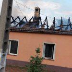 Un bărbat cu arsuri şi o femeie cu atac de panică, în urma unui incendiu la Sânandrei