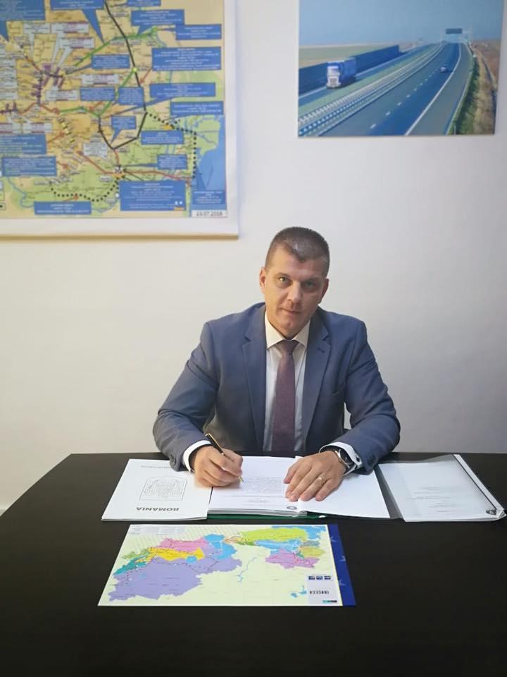 """Ovidiu Sîrbu, secretar de Stat în Ministerul Transporturilor: """"Timișoreni, vă pierdeți timpul cu protestele primarului Robu. Lucrările centurii încep în 2019"""""""