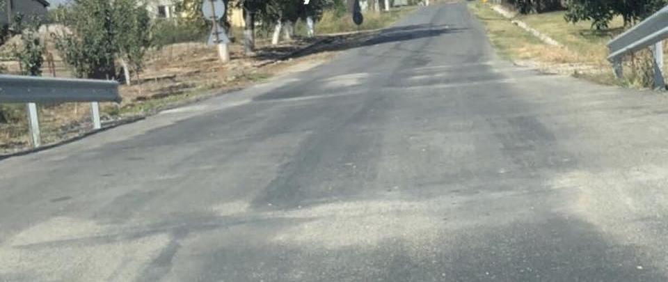S-au finalizat lucrările la podețul de pe Drumul Județean 591 A, din localitatea Diniaș