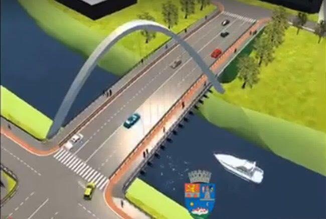 """Primarul Robu: """"S-a avizat favorabil noul pod Jiul și de îndată ce avizul va fi redactat, îl vom primi și ca document"""""""
