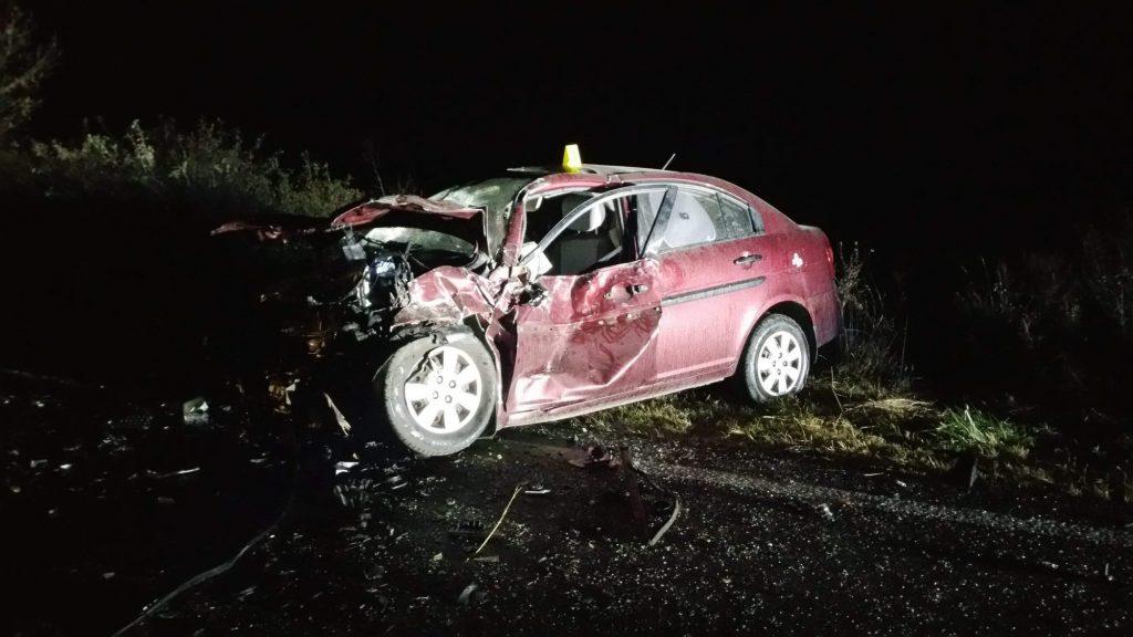Accident rutier cumplit aproape de Jebel