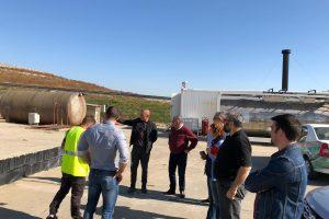 Delegație de la Ministerul Fondurilor Europene în inspecție la Depozitul de Deșeuri Nepericuloase