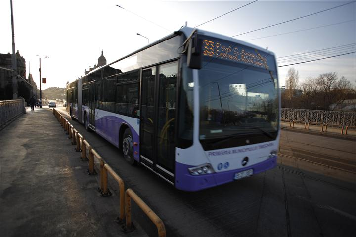 Traseul liniei Expres 6, prelungit de STPT. Modificare şi pentru M35