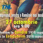 TNL Timiș, acțiune de plantare de copaci în două localități din Timiș