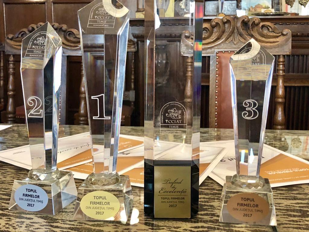 Gala Excelenţei în Afaceri – Topul Firmelor din județul Timiș 2017, eveniment aniversar sub semnul Centenarului Marii Uniri. Peste 1700 de firme premiate