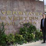 Cercetător de la UVT, bursă importantă în Statele Unite