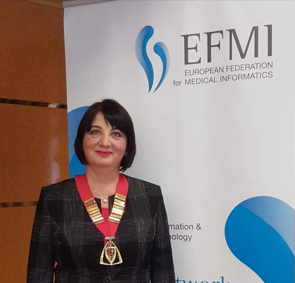 Un nou motiv de mândrie pentru universitate! O profesoară de la UPT, președinte al EFMI