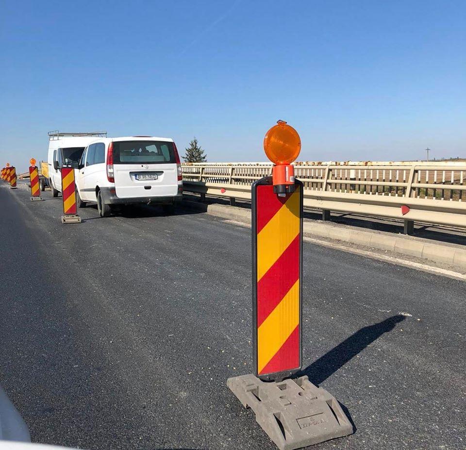 Trafic restricţionat pe Autostrada A 1, pe mai multe sectoare