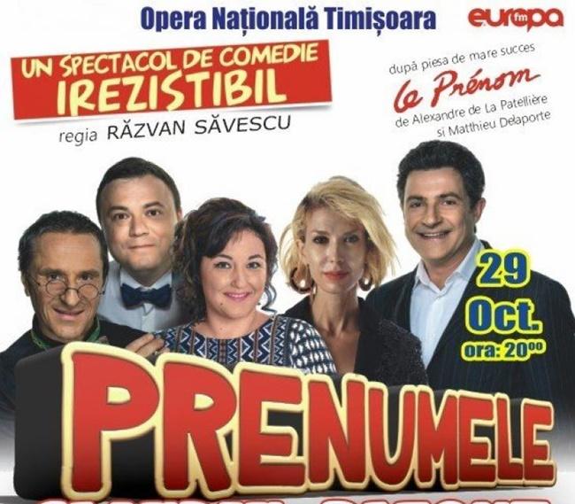 Prenumele: comedie irezistibilă, cu vedete de București