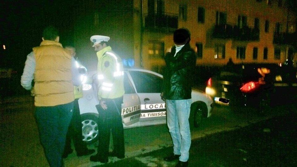 Scandal şi bătaie! Polițiștii locali au intervenit din nou în Campusul Universitar