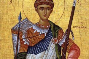 Sfântul Dumitru, sărbătorit de credincioşi în 26 octombrie