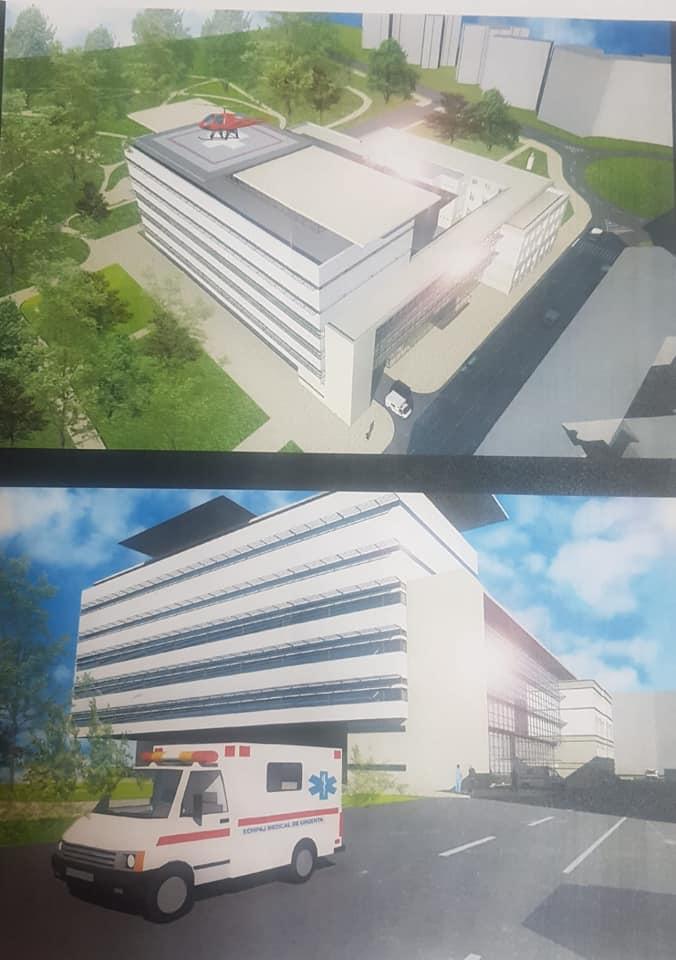 """Ce promite Robu după finalizarea noului corp al Spitalului """"Louis Ţurcanu"""""""