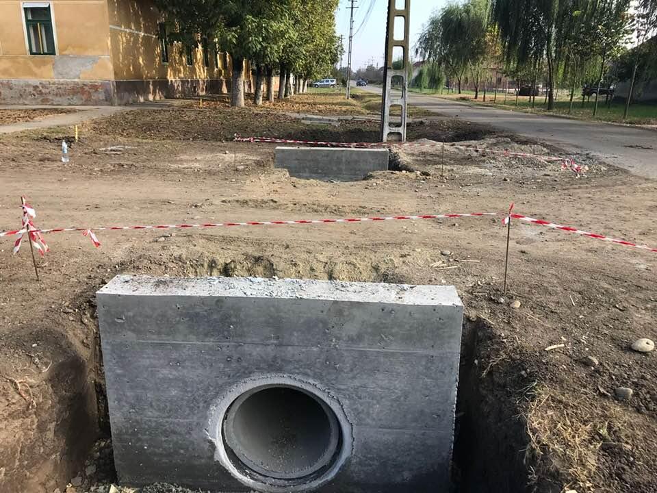 Începe asfaltarea drumului județean Biled- Satchinez