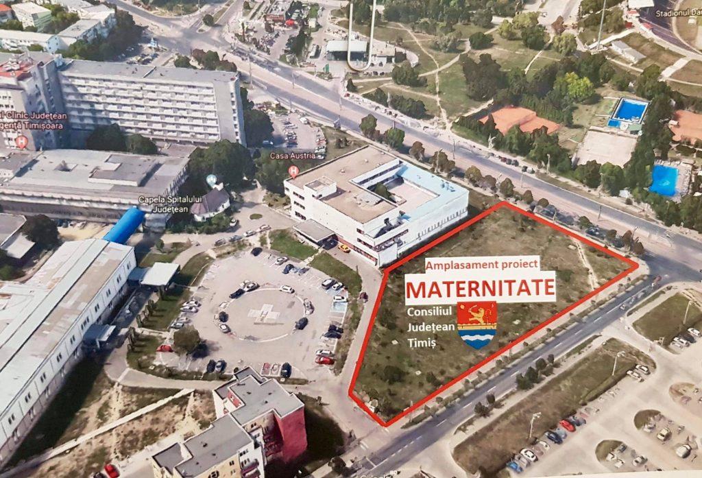 Maternitate nouă la Timișoara, din bani europeni