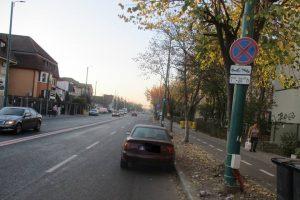 Oprirea interzisă pe Calea Martirilor