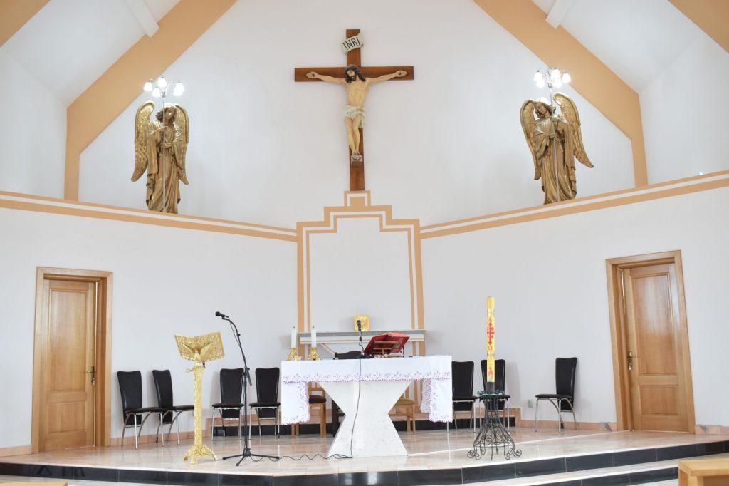 Stadiul lucrărilor la capela din comuna Biled