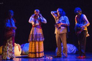 """""""Frica Neagră"""", primul spectacol despre Holocaustul romilor, la Teatrul German"""