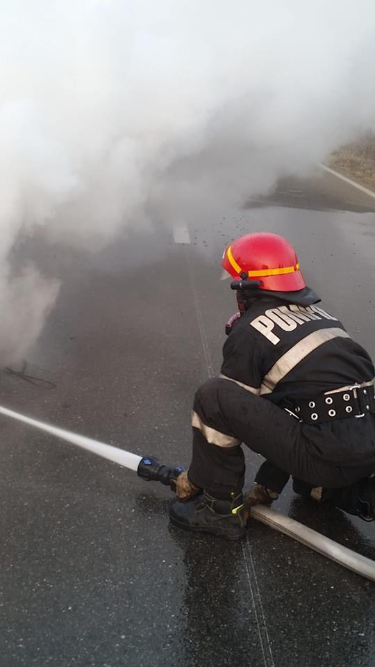 Un timişorean are probleme cu legea după ce a dat foc la tomberoane şi a incendiat o maşină