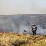 Incendii de vegetație în prima jumătate a lunii noiembrie. Pagube de peste 60.000 lei