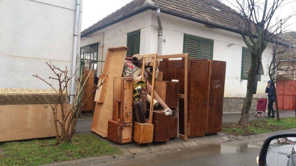 Timişorenii pot scăpa de deşeurile voluminoase între 19 noiembrie şi 18 februarie