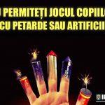 Atenţie la artificii şi petarde!