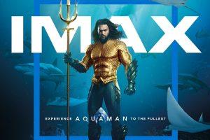 """Trei motive să vezi """"Aquaman"""" în format IMAX. 90% din blockbuster a fost filmat cu camere IMAX"""