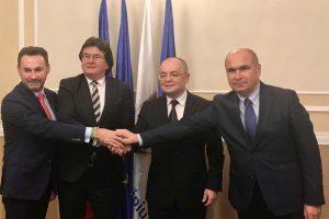 """Patru primari din Banat şi Transilvania au semnat """"actul de temelie"""" al Alianței Vestului"""