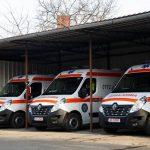 Județul Timiș a fost dotat cu 13 ambulanțe și 3 autosanitare SMURD noi