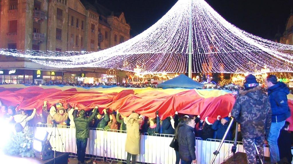 Video/ S-a deschis Târgul de Crăciun la Timișoara