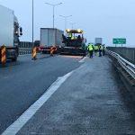 Atenţie, şoferi! Se lucrează pe autostradă, în zona oraşului Arad