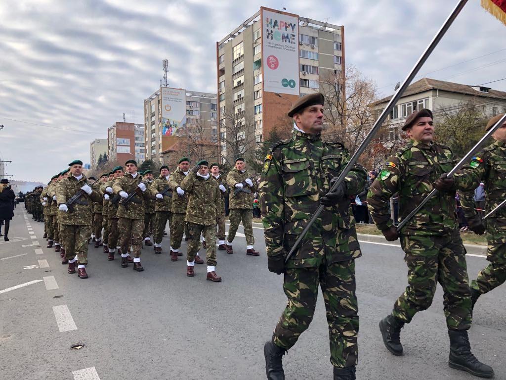 Străzi închise la Timișoara pentru parada militară de 1 Decembrie
