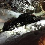 O mașină a lovit o conductă de gaz în Caraș-Severin