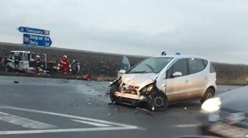 Doi şoferi beţi au băgat trei oameni în spital