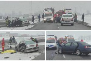 Accidente cu 7 victime în judeţul Arad