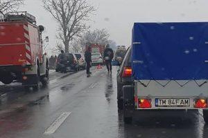 Grav accident între Lovrin și Șandra