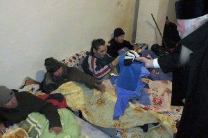 Oamenii străzii au umplut adăposturile de noapte din Timișoara