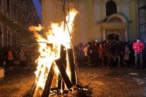 Etnicii sârbi din Banat marchează Crăciunul
