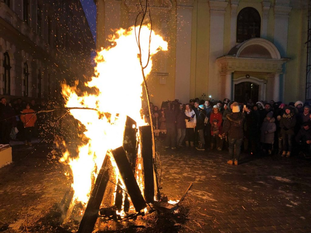 Sârbii din Banat sărbătoresc Crăciunul pe rit vechi