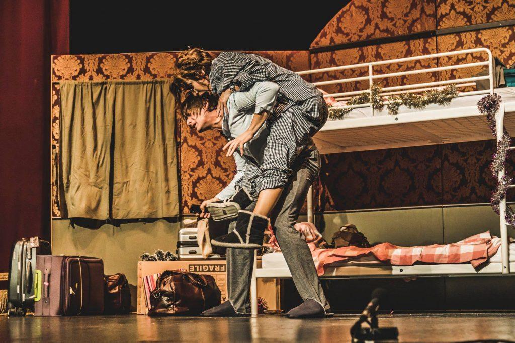Marius Manole și Medeea Marinescu joacă la Timişoara într-o piesă regizată de Radu Beligan