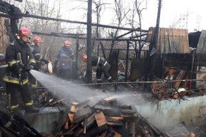 Incendiu la un bar din cartierul Fratelia