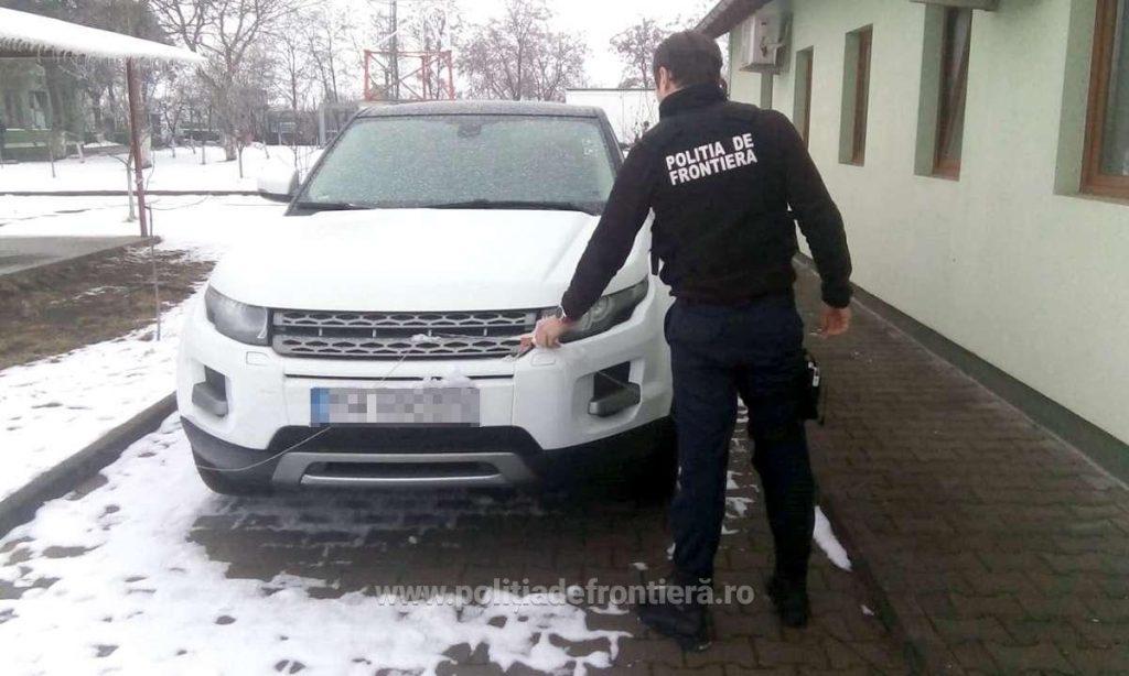 Autoturism furat din Italia, confiscat de poliţiştii de frontieră timişeni