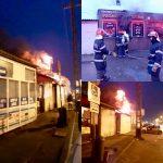 Un fast-food din Piața Mehala a luat foc
