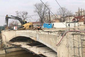 FOTO/Stadiul lucrărilor la Podurile Dragalina și Eroilor