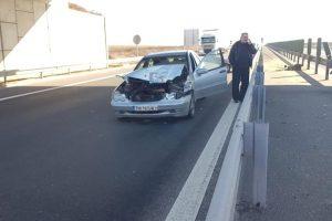 Accident pe A1, între Lugoj şi Timişoara