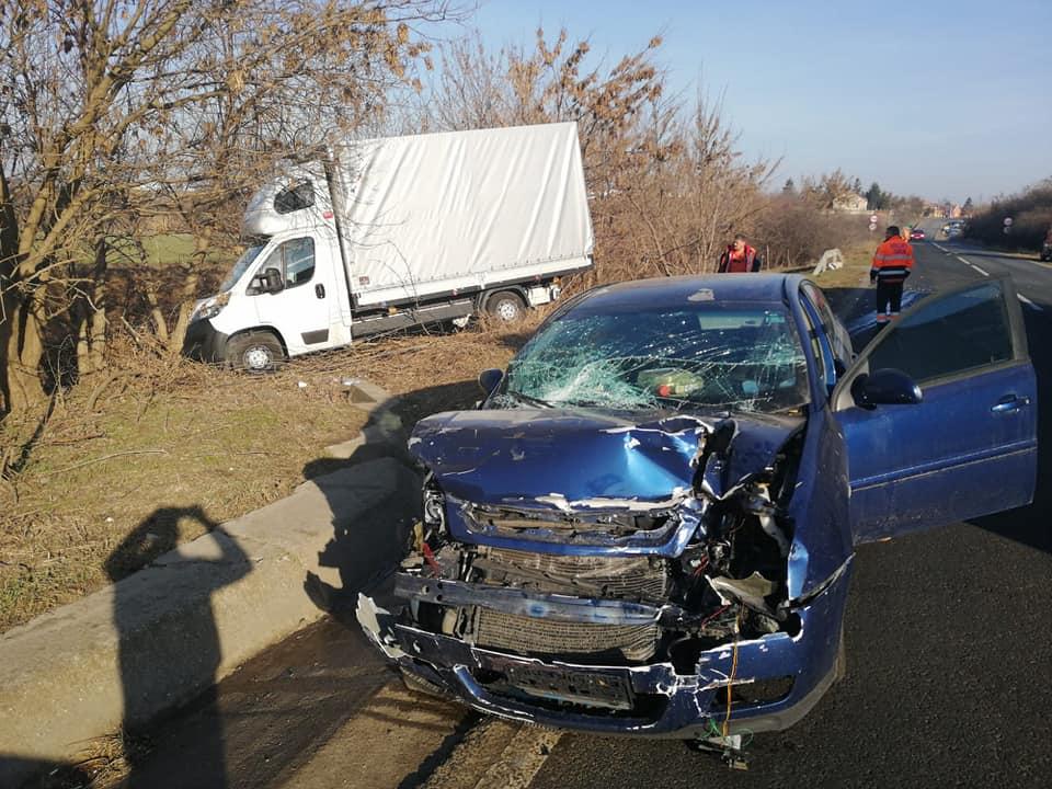 Două accidente pe acelaşi drum