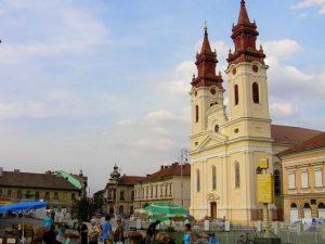 Piața Catedralei din Arad își va schimba înfățișarea cu 150 de milioane de lei