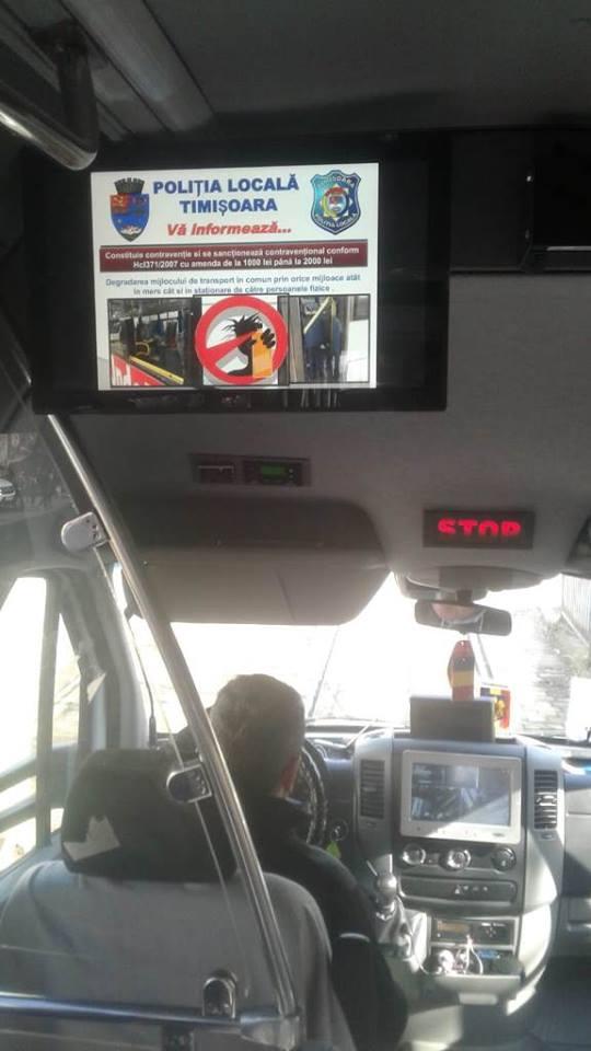 Măsuri… video împotriva hoţilor din mijloacele de transport