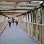 Două pasarele importante din Lugoj intră în reparaţii