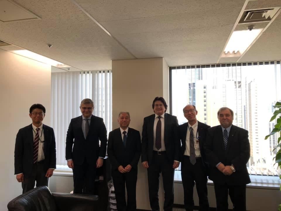 Robu şi Diaconu, în delegaţie la Tokio