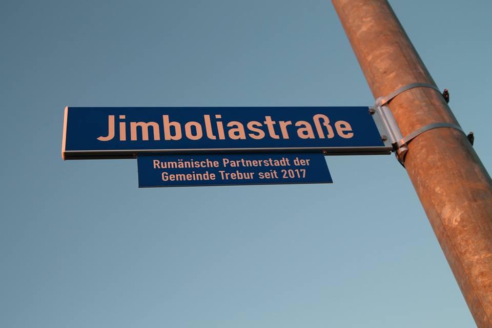 O stradă din Germania poartă numele Jimbolia